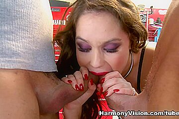 Charlotte Vale in Pumped Full Of Man Meat - HarmonyVision