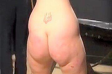 Crazy homemade Spanking, Ass adult movie