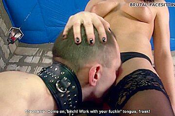 Mistress Stephanie Clips - Brutal-Facesitting