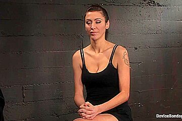 Princess Donna Dolore in Princess Donna World famous Mistress, helpless on the sybianmade to cum like a common whore - DeviceBondage