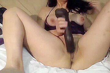 BBC lover and dirty talking cuckold wife Sara ready for fun