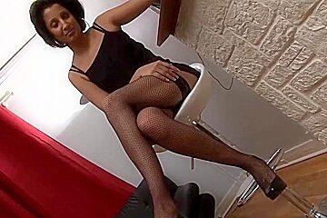 French Casting ( 2 ) - Laula vs 4 Cocks - Hot Gangbang - DP
