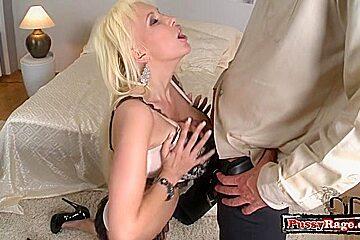German pornstar titty fuck and cum on tits