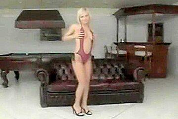busty blonde romanian dp
