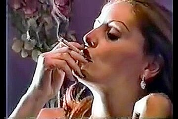 Sexy smoker angel