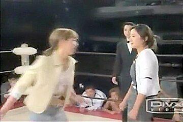 japan catfight ring