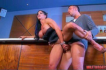 Big tits milf dp and cumshot