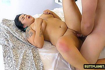 Latin pornstar pussy fuck with cumshot