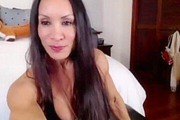 Denise On Webcam 3-03-2015