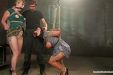 Steve Holmes Claire Dames Adrianna Nicole in Claire Dames and Adrianna Nicole - SexAndSubmission