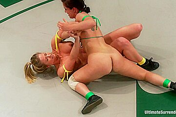 Rookie Ranked 6th Takes On Fitness Model Ranked 7th Brutal Non-Scripted Action. Loser Gets Fucked - Publicdisgrace