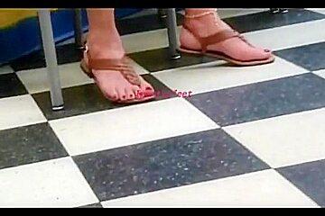 My BM korean mom feet