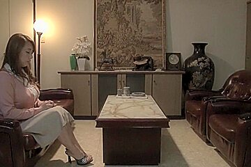 Exotic Japanese girl in Incredible Big Tits, Lesbian JAV scene