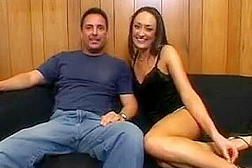 hubby watches stranger fuck his gorgeous cougar wife with his huge cock!