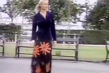 Danish Blond girl fucked in public