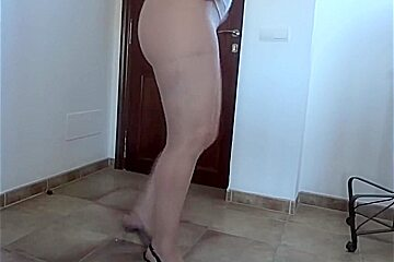 Opinion pantyhose flashing first time with you