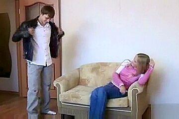 blonde russian teen fucked