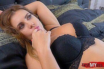 Big tits pornstar anal and cumshot