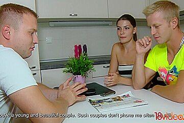 18 Videoz - Zena Little - Teeny taking anal for cash