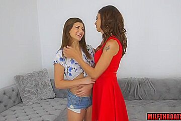 Hot mom sex with cumshot