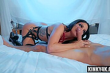 Hot cowgirl spanking with cumshot