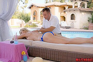Big tits milf hardcore and massage
