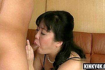 Big tits milf bondage and cumshot