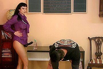 Trinity-Productions: Strapon Teacher