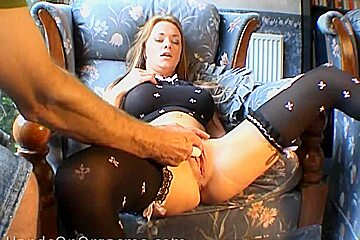 HandsOnOrgasms Video: Paige Ashley Full Body Black