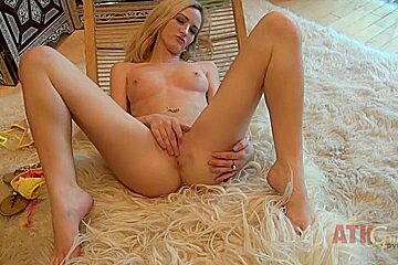 ATKGirlfriends video: Skylar Green getting naked and showing off her amazing body