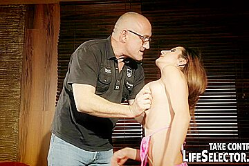 Step-daughter getting a hard fuck