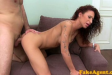 FakeAgent HD: Latino dancer does anal in casting