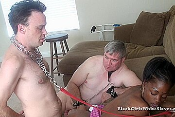 BlackGirlsWhiteSlaves: The Cuck Licks It Up