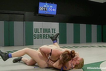 Tragedy strikes the semi finals A rolled ankle 1 wrestler is injured the match over tough spor