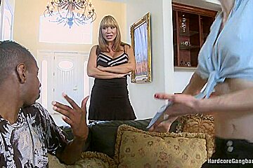 Rich MILF Taken Down and Gangbanged by her Daughters Black Thug Friends