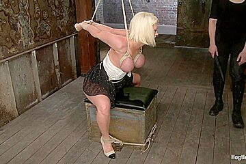 Blonde with Big Natural Breasts RODE HARD