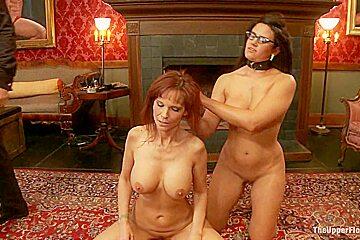 MILF Ass Slut Syren de Mer is Under the House Slaves Thumb