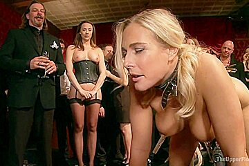 Anal Slave Broken in by Gorgeous Chanel Preston