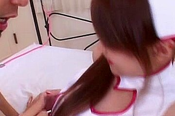 Cosplay Porn: Sexually Active Asian Nurses Fucking Their Patients part 3
