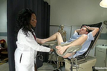 The Doctor is IN your ASS Sexy New TS Talent Chanel Couture