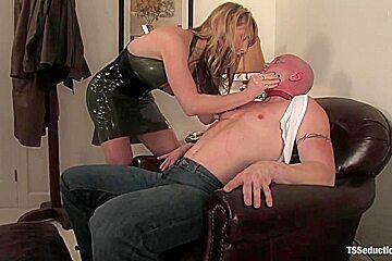 Danielle Foxxx and Jim