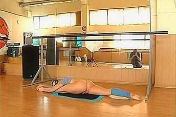 Anna Muhina - Gymnastic Video part 2