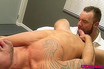 Bear Bruno Knight shags Marco Sessions