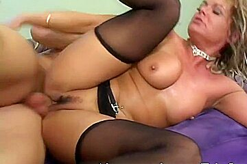 Kelly gets fucked by her stepson
