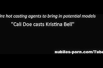 Nubiles-Porn: Cali Doe Cast Kristina Bell Ep 3