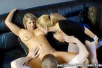 Paradise-Films Video: Mature Threesome Fantasy