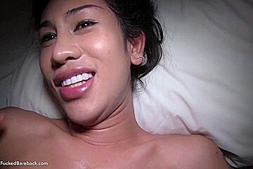 Ladyboy Jusmin First Time Anal