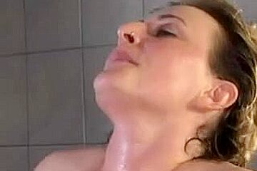 BBW mature whore gets fucked and facialized