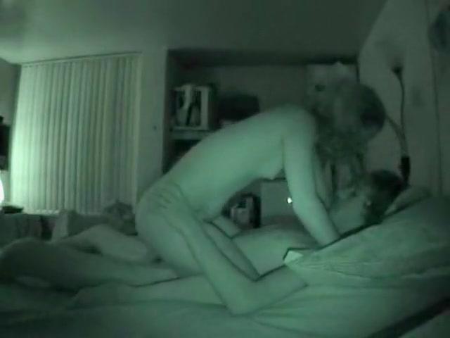 Hidden camera night vision sex