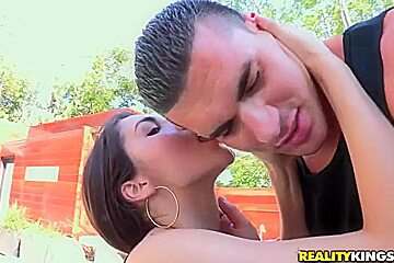 Clover licking pussy and ass of Valentina Nappi